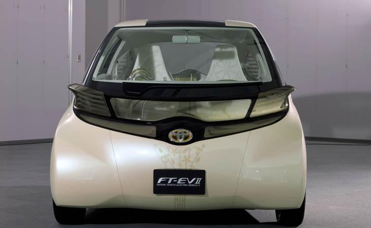 Toyota FT-EV II, microurbano eléctrico