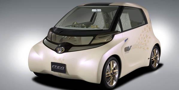 Toyota FT-EV II, el microurbano eléctrico del futuro