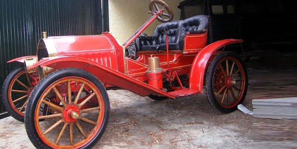 El coche más antiguo del mundo, en Madrid