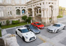 Audi R8 V10 vs Mercedes SLS AMG,  Nissan GT-R SPEC-V  y Porsche 911 Turbo S