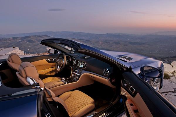 Mercedes SL 65 AMG, rugiendo a cielo abierto