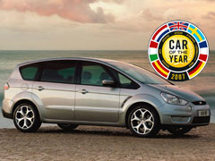 Ford S-Max, nuevo Coche del Año en Europa