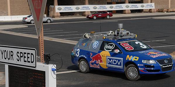 DARPA Urban Challenge: la gran carrera