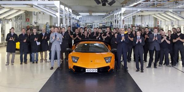 Adiós al Lamborghini Murciélago
