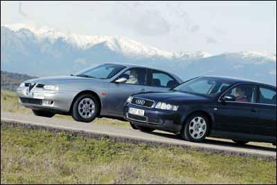 Comparativa: Alfa 156 2.0 JTS / Audi A4 2.0 FSI