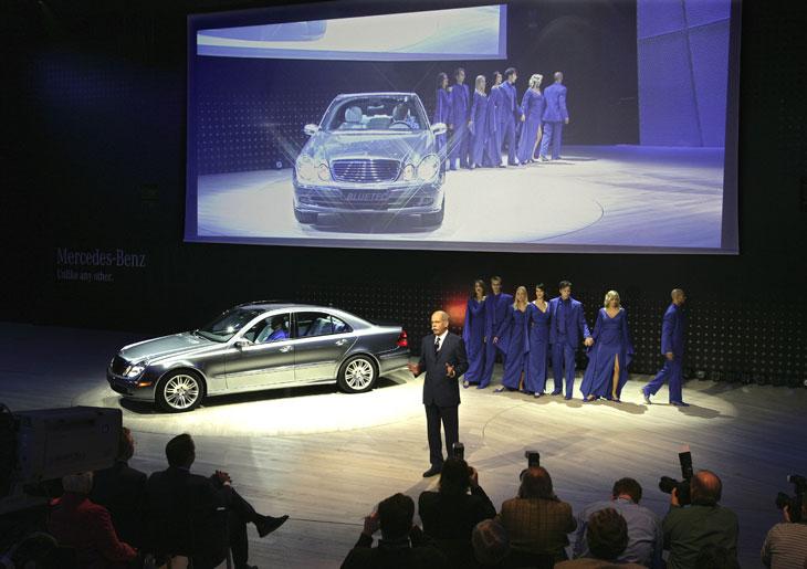 Mercedes-Benz en el Salón de Detroit