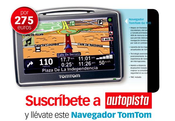 Llévate un navegador TomTom