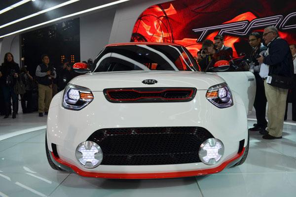 Kia Trackster Concept, originalidad al poder