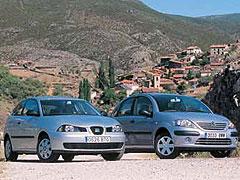 Citroën C3 1.4 SX Plus / Seat Ibiza 1.4 75 CV Stella