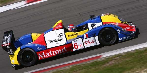 Senna prueba para Le Mans