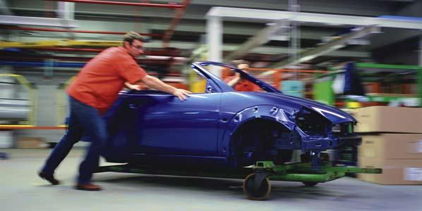 Cae la producción de coches en Europa