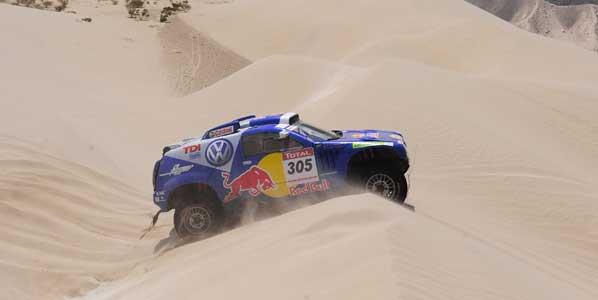 VW seguirá en el Dakar