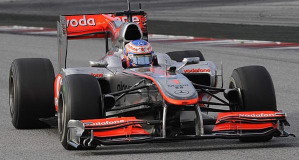 F1: Polémica con el alerón trasero del McLaren