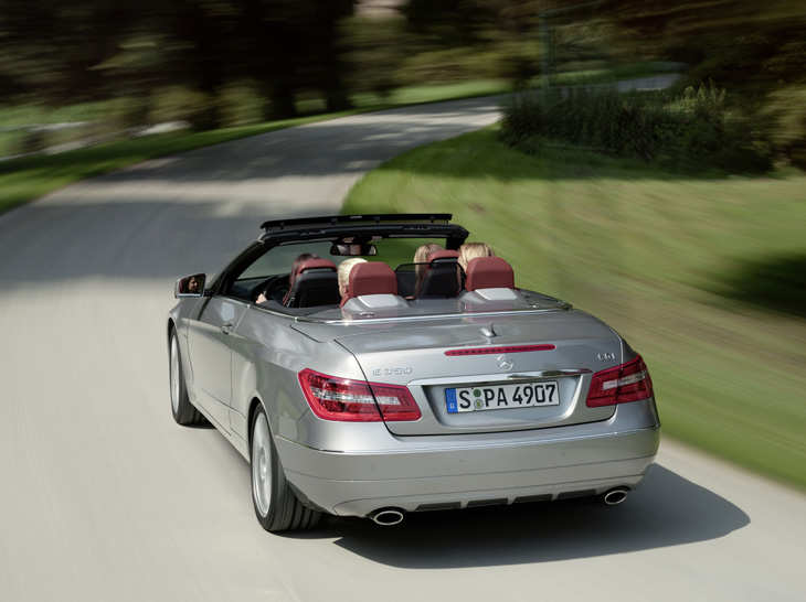 Mercedes Clase E Cabrio.
