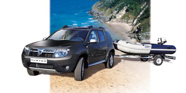 Dacia Duster 'Pack Marine'