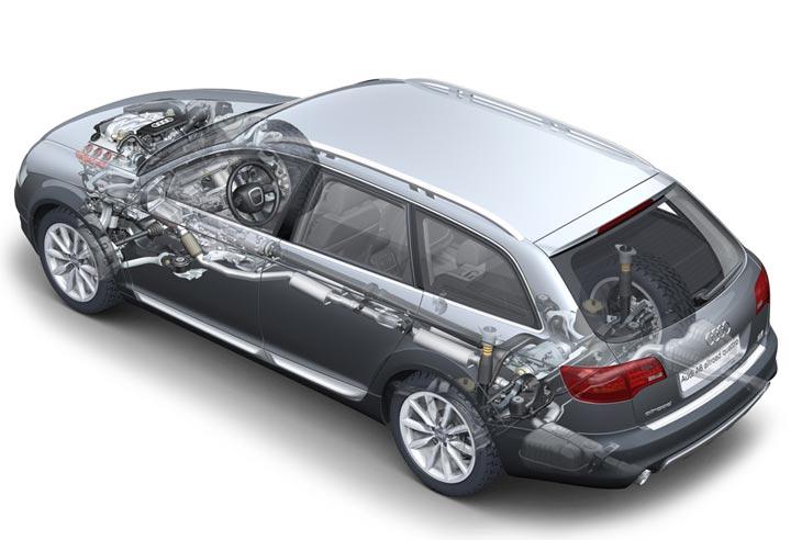 Suspensión neumática, tracción total y motores de hasta 350 CV de potencia.