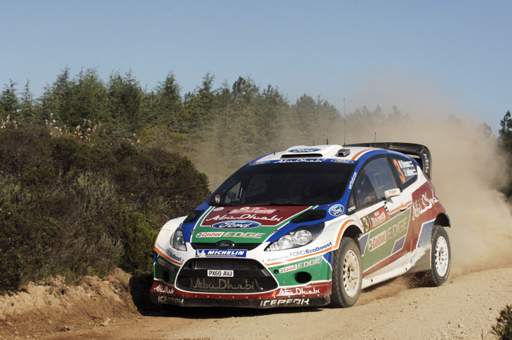Rally de Cerdeña 2011.