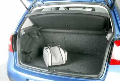 Formas aprovechables para el maletero.