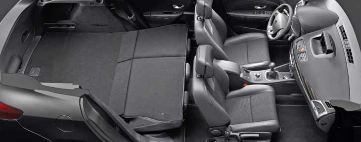 Renault Mégane Sport Tourer: modularidad