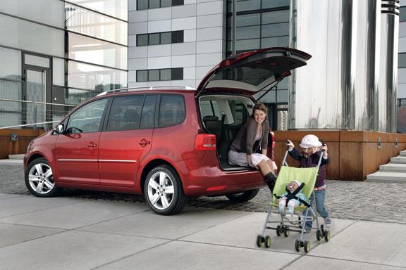 Volkswagen Touran, el contacto