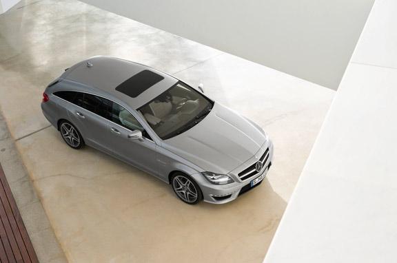 Mercedes CLS 63 AMG Shooting Brake