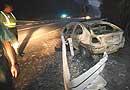 Peligro: incendios en carretera