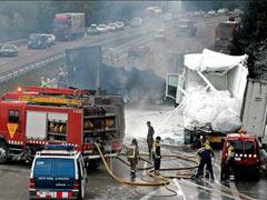 Una colisión múltiple en León deja cuatro muertos
