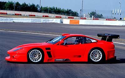 Ferrari en el Salón de Frankfurt 2003