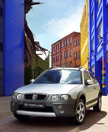 Rover en el Salón de Frankfurt 2003