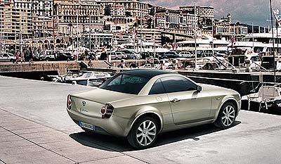 Lancia en el Salón de Frankfurt 2003