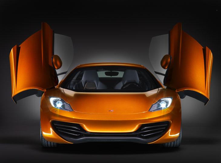 Así es el McLaren MP4-12C.