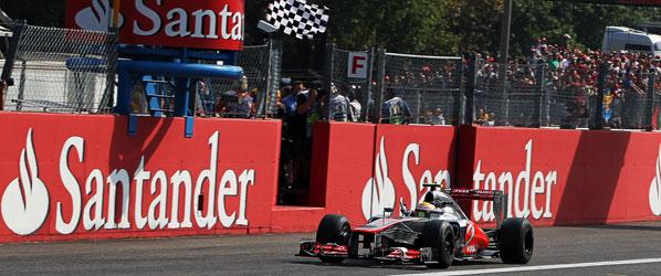 Hamilton no tiene rival y gana en Monza