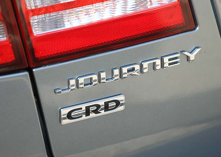 Dodge Journey CRD detalles