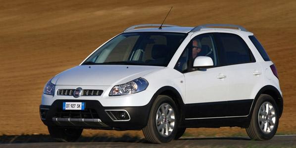 Fiat Sedici: nueva gama