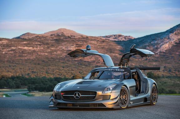 Mercedes SLS AMG GT3 45 Aniversario