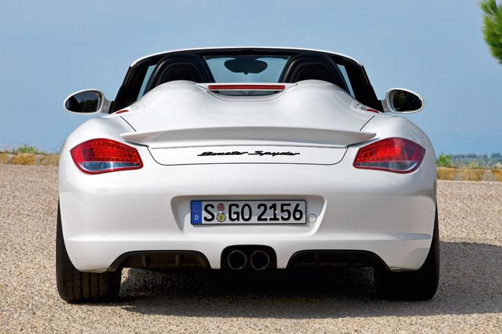 Porsche Boxster Spyder Contacto