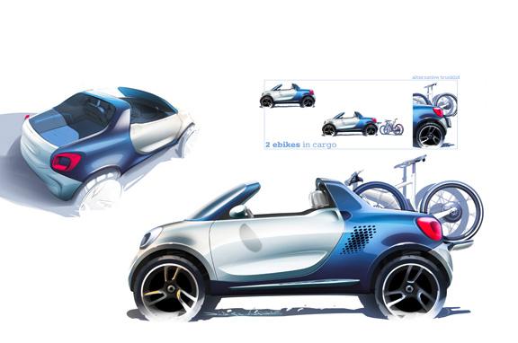 Smart For-Us, pick-up urbano y eléctrico