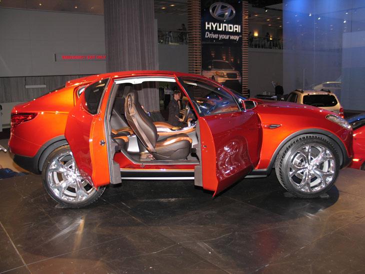 Hyundai en el Salón de Detroit 2006