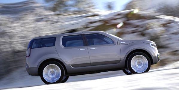 Ford Explorer América, concepto racionalizado