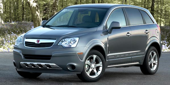 Saturn Vue Green Line 2 Mode, un SUV híbrido