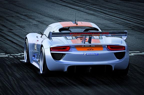 Porsche 918 RSR, deportivo híbrido