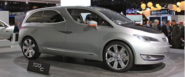 Chyrsler 700C Concept, monovolumen de futuro