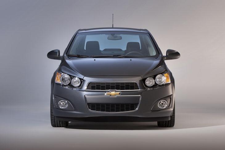Chevrolet Aveo Sedán.