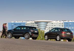 Audi Q3 2.0 TDI vs Range Rover Evoque 2.2 Diesel