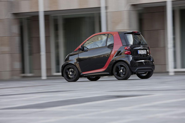 Smart Fortwo Sharpred Edition