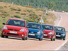 Citroën C3 1.6 / Ford Fiesta 1.6 / Renault Clio 1.4 / Volkswagen Polo 1.4