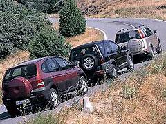 ... CR-V 2.0i / Land Rover Freelander 1.8i / Renault Scénic RX4 2.0 16V