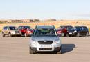 Skoda Yeti vs Nissan Qashqai, Toyota Rav-4, Ford Kuga y VW Tiguan