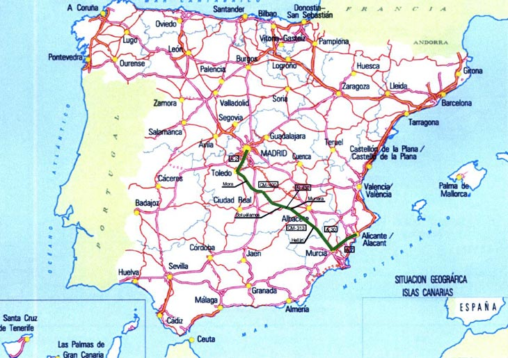 Itinerarios Alternativos