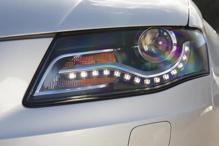 Audi A4 Avant: detalles exteriores